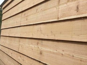 Straight Edge Cedar Cladding