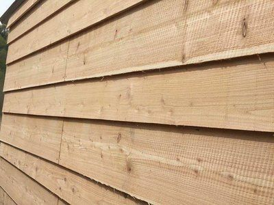 Our wooden cladding on a wall